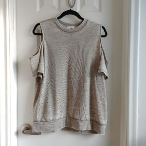 Forever 21 Cutout Shoulder Top - Size Medium